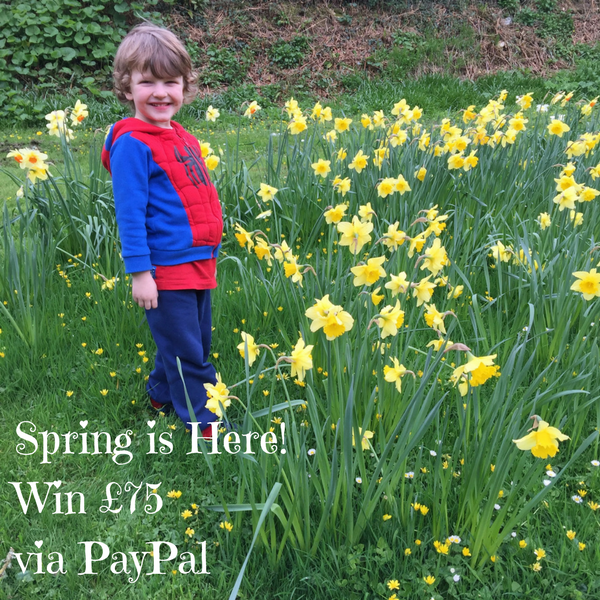 Spring is Here! Win £75 via PayPal