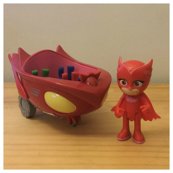 Owlette Vehicle Set