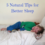 5 Natural Tips for Better Sleep