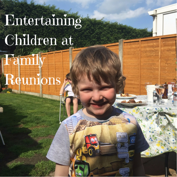 Entertaining Children at Family Reunions
