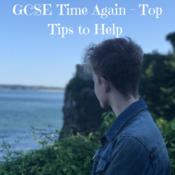 GCSE Time Again - Top Tips to Help