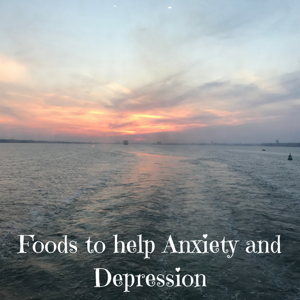 foods to help anxiety and depression