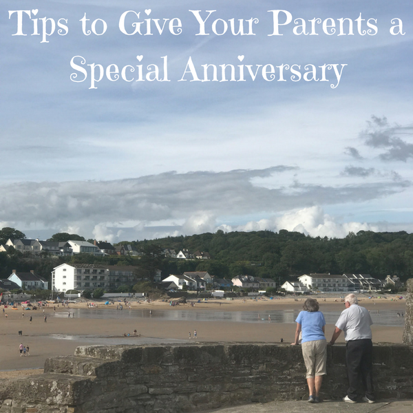 tips to give your parents a special anniversary