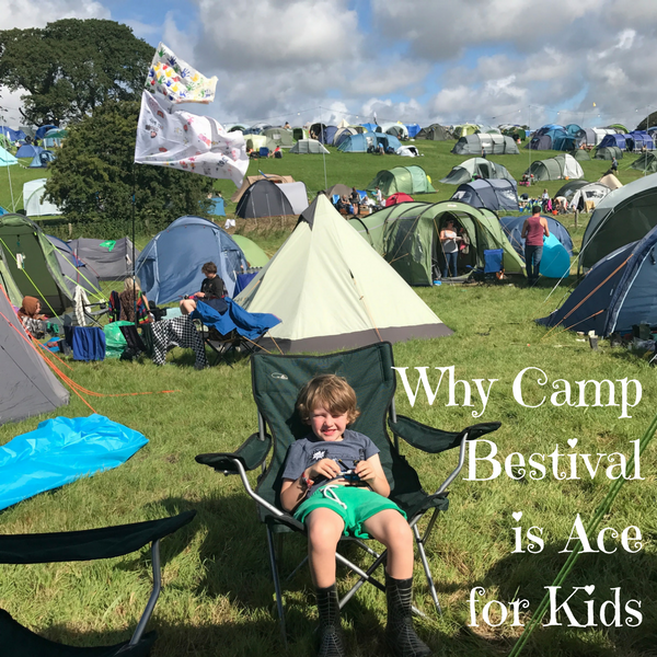 Why Camp Bestival is Ace for Kids