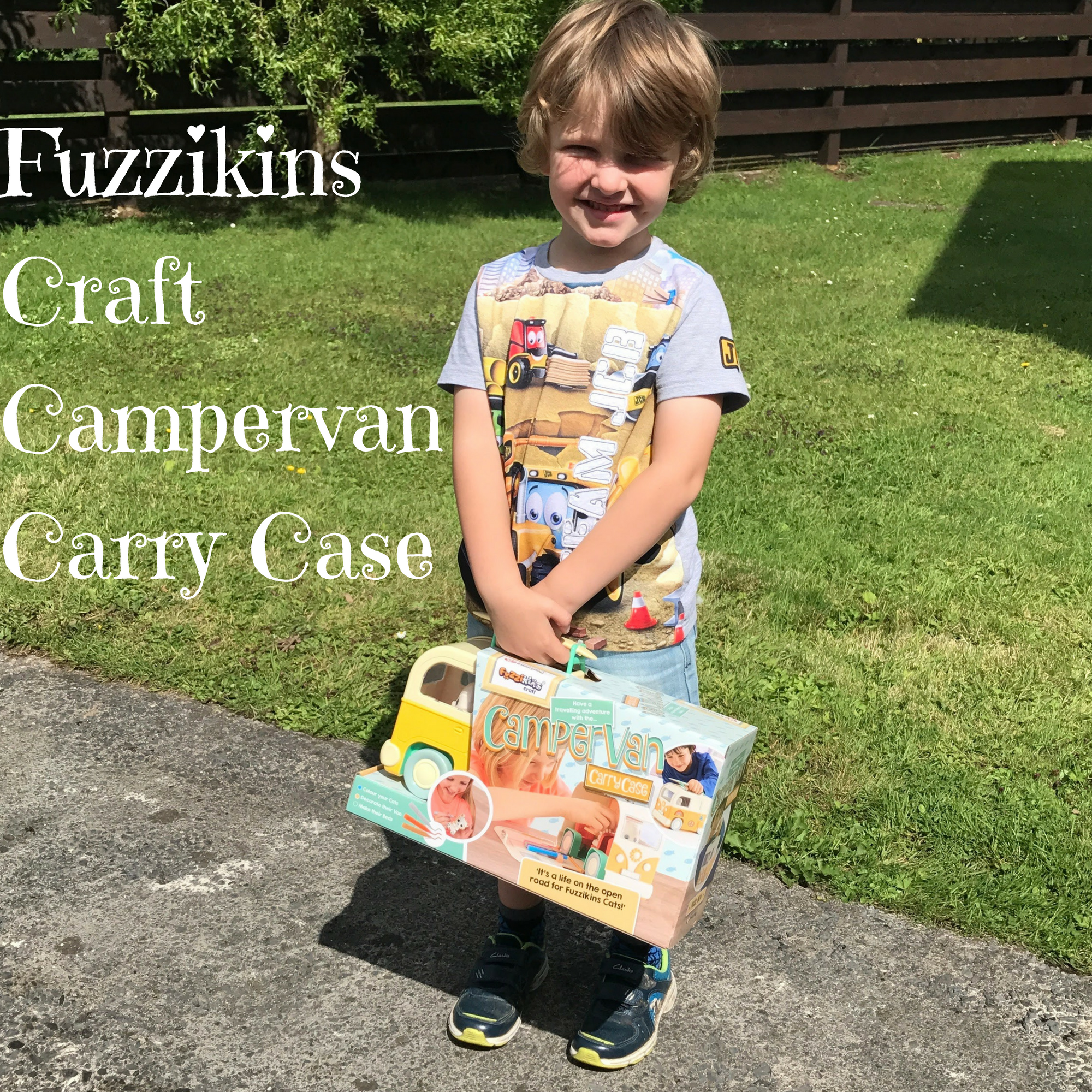 Fuzzikins Craft Campervan Carry Case