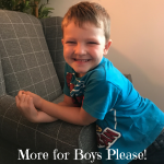 More for Boys Please!