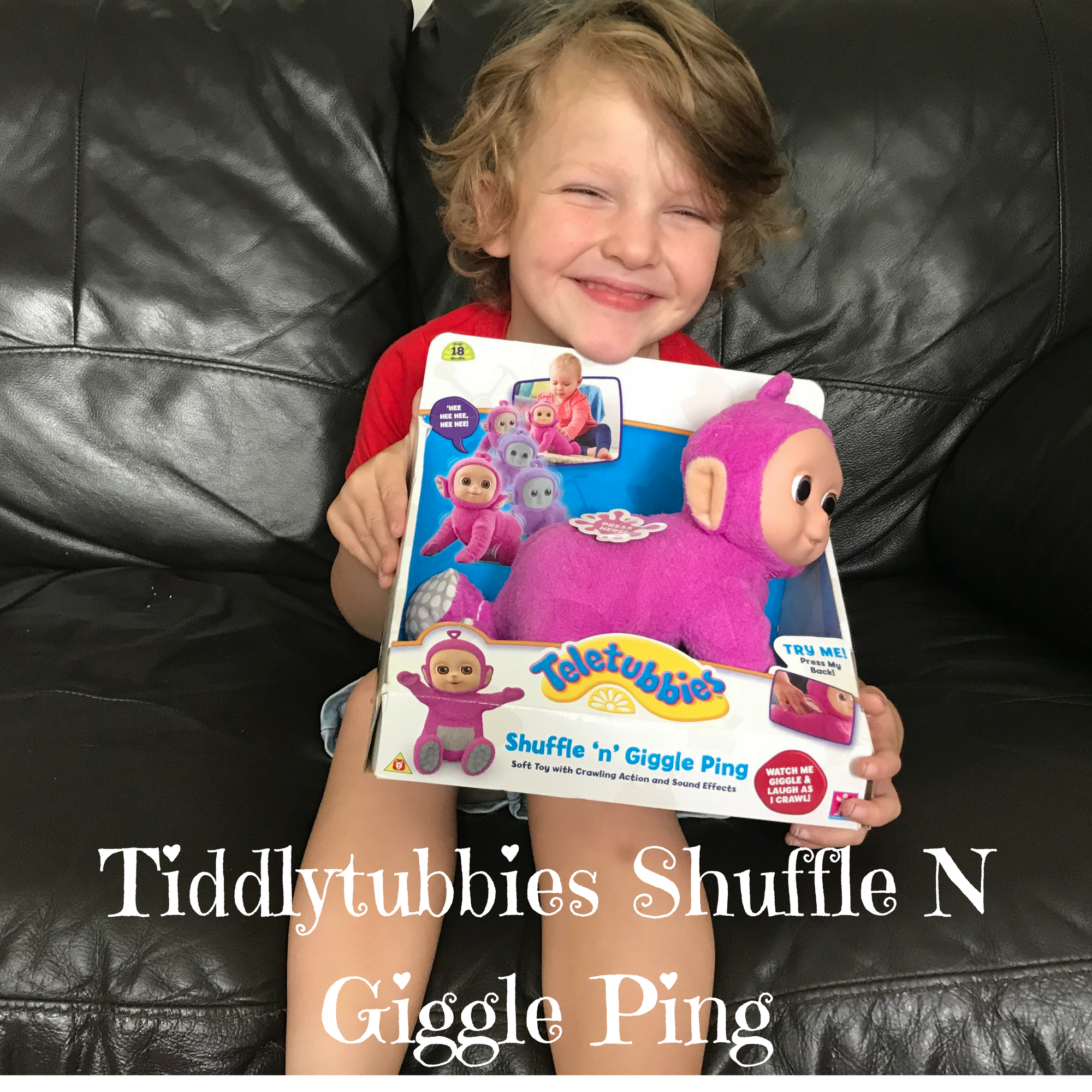 Tiddlytubbies Shuffle N Giggle Ping