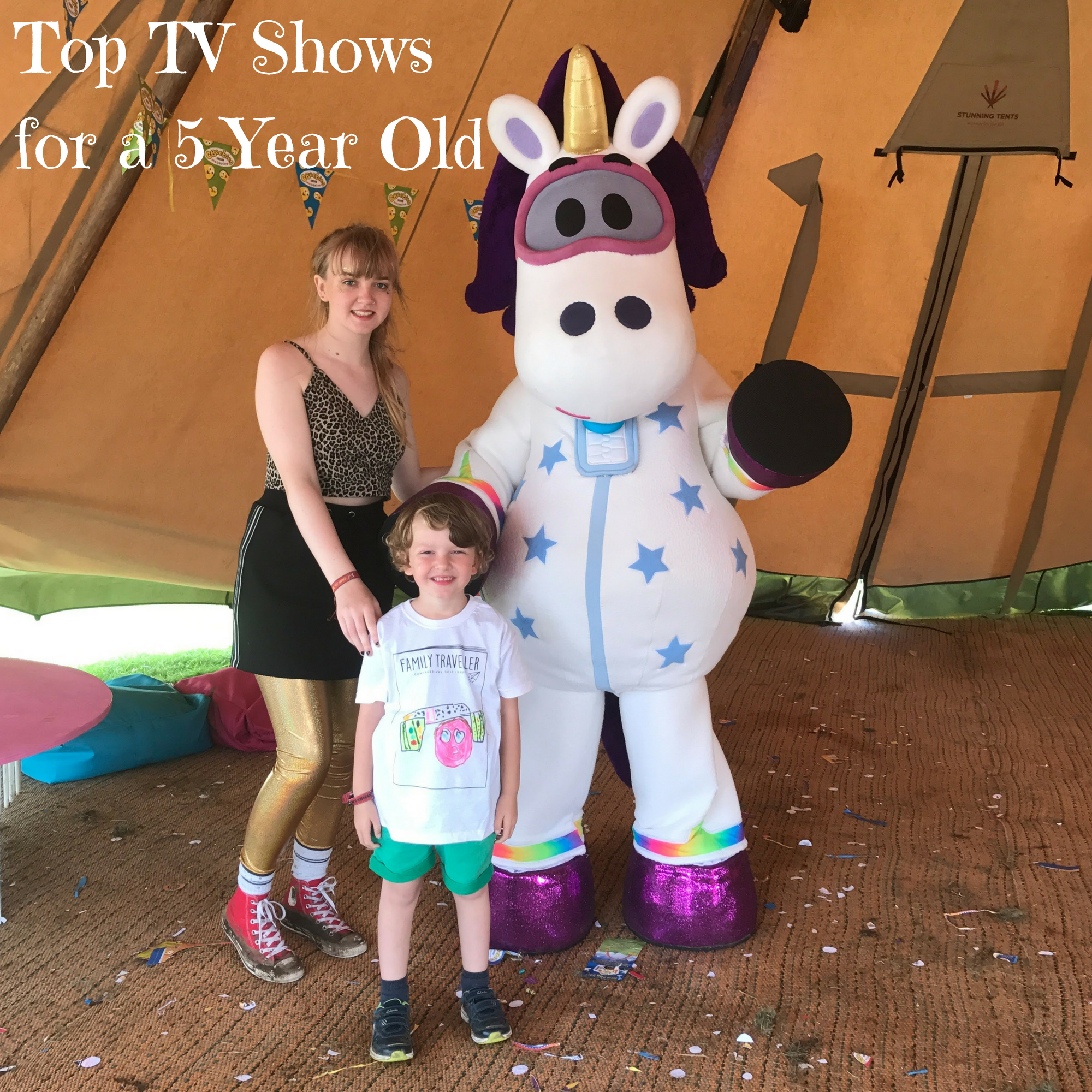 Top TV Shows for a 5 Year Old
