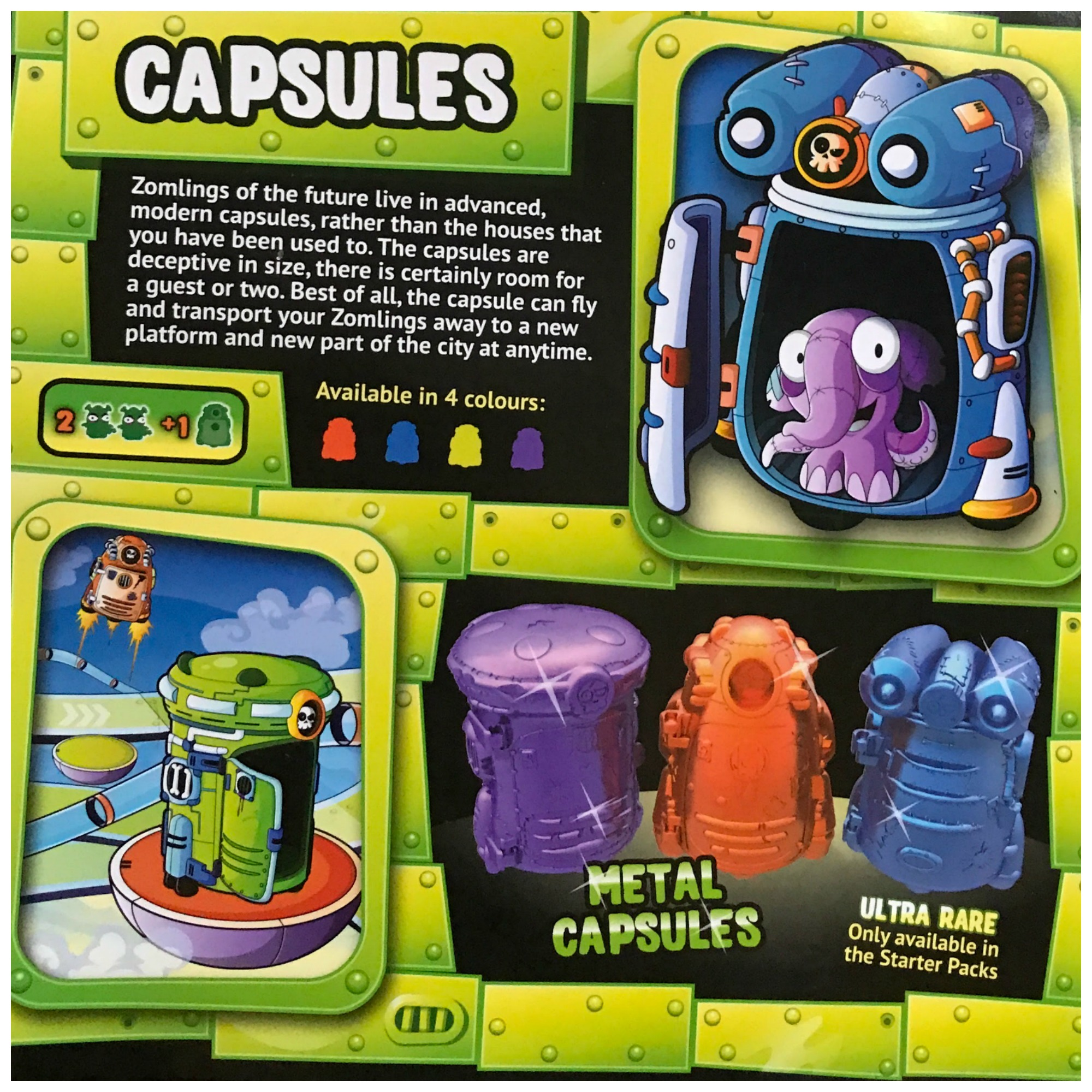 Zomlings in the Future Series 6