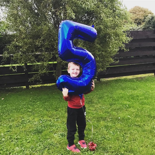 And now he is 5!  And Im exhausted! Ivehellip