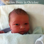 Babies Born in October