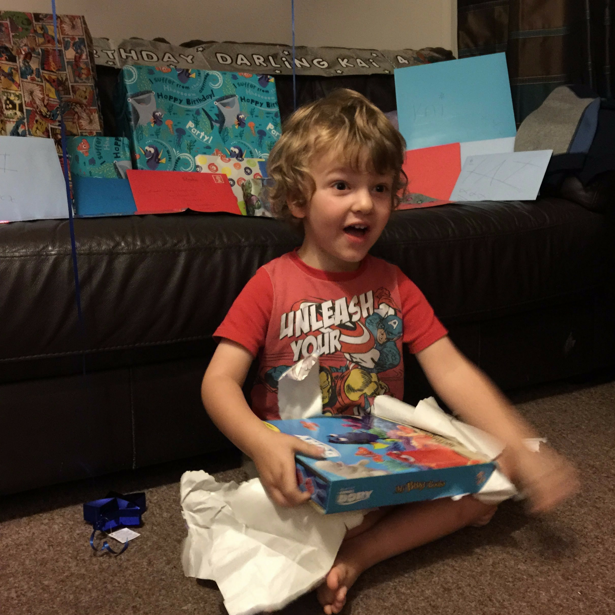 Letter to my 5 Year Old Son