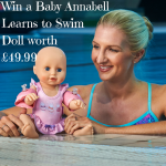 Win a Baby Annabell Learns to Swim Doll worth £49.99