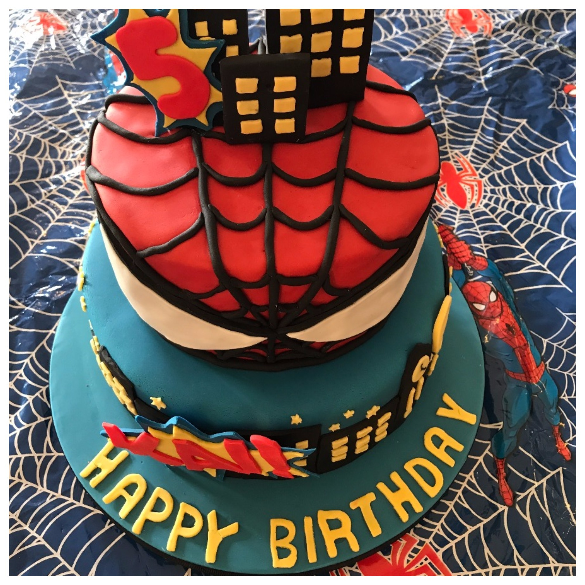 Cake fit for a Super Hero