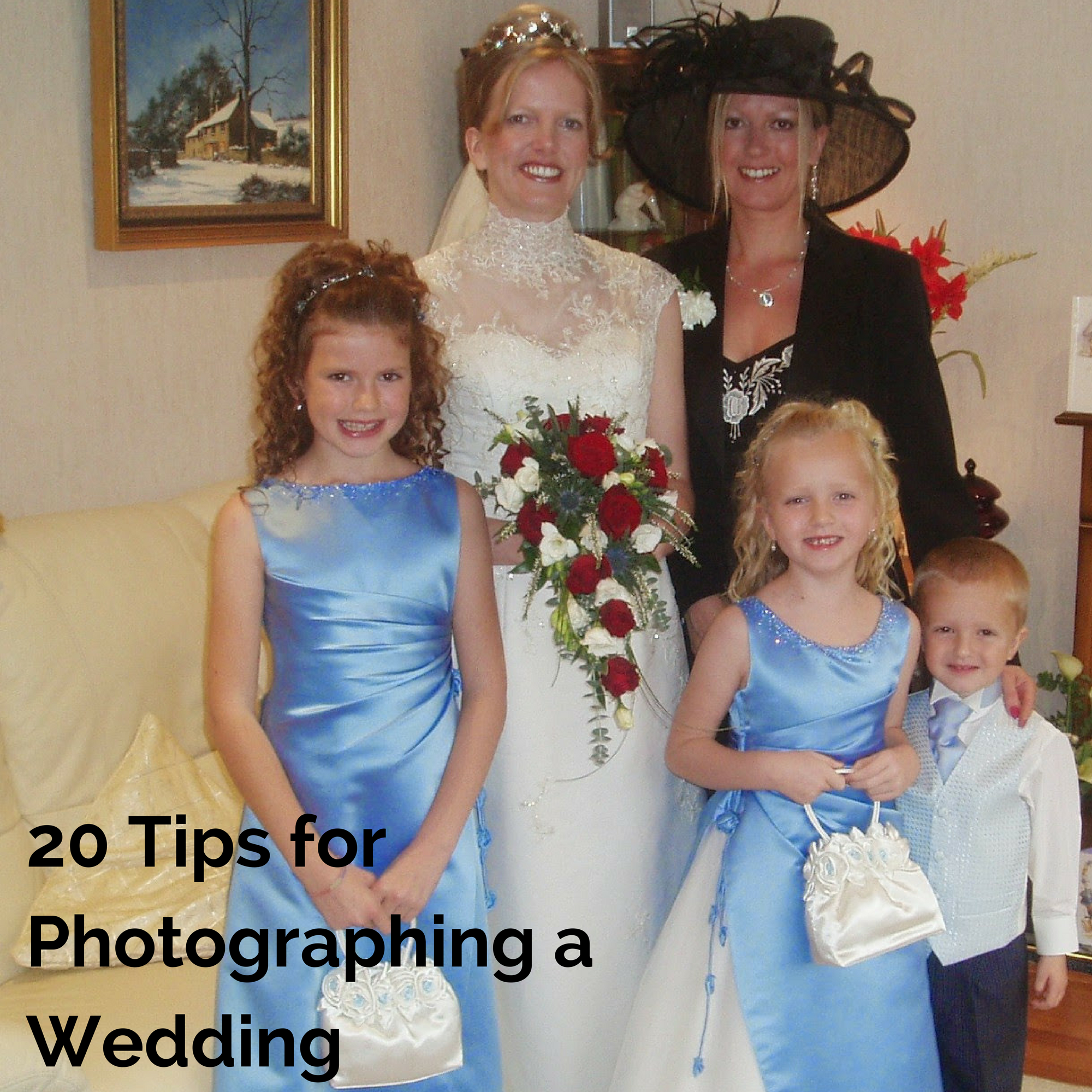 20 Tips for Photographing a Wedding