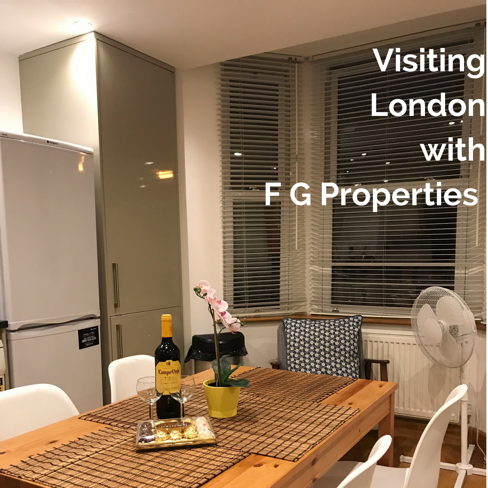 Visiting London with F G Properties