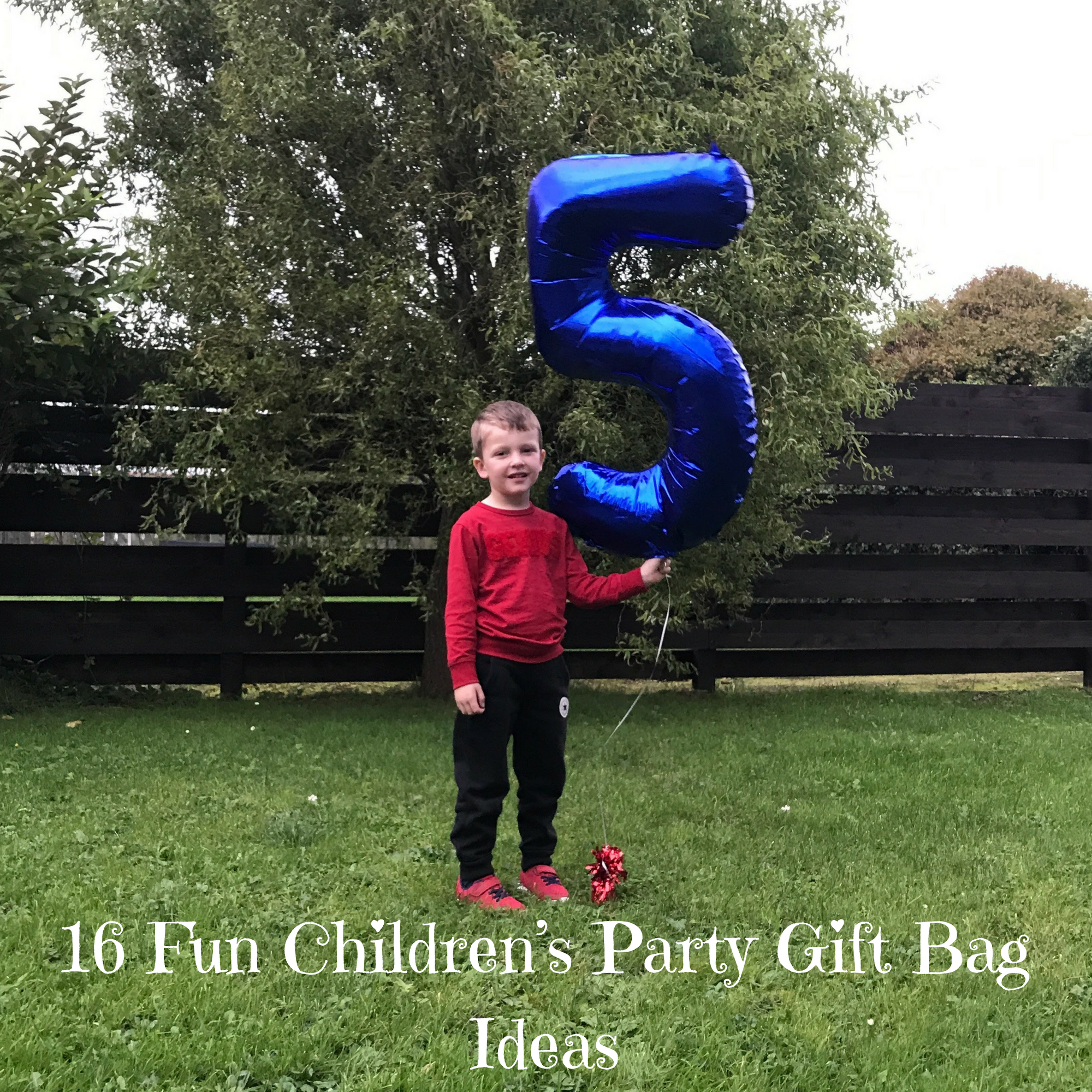 16 Fun Children's Party Gift Bag Ideas