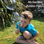 My Gazillion Bubbles Party!