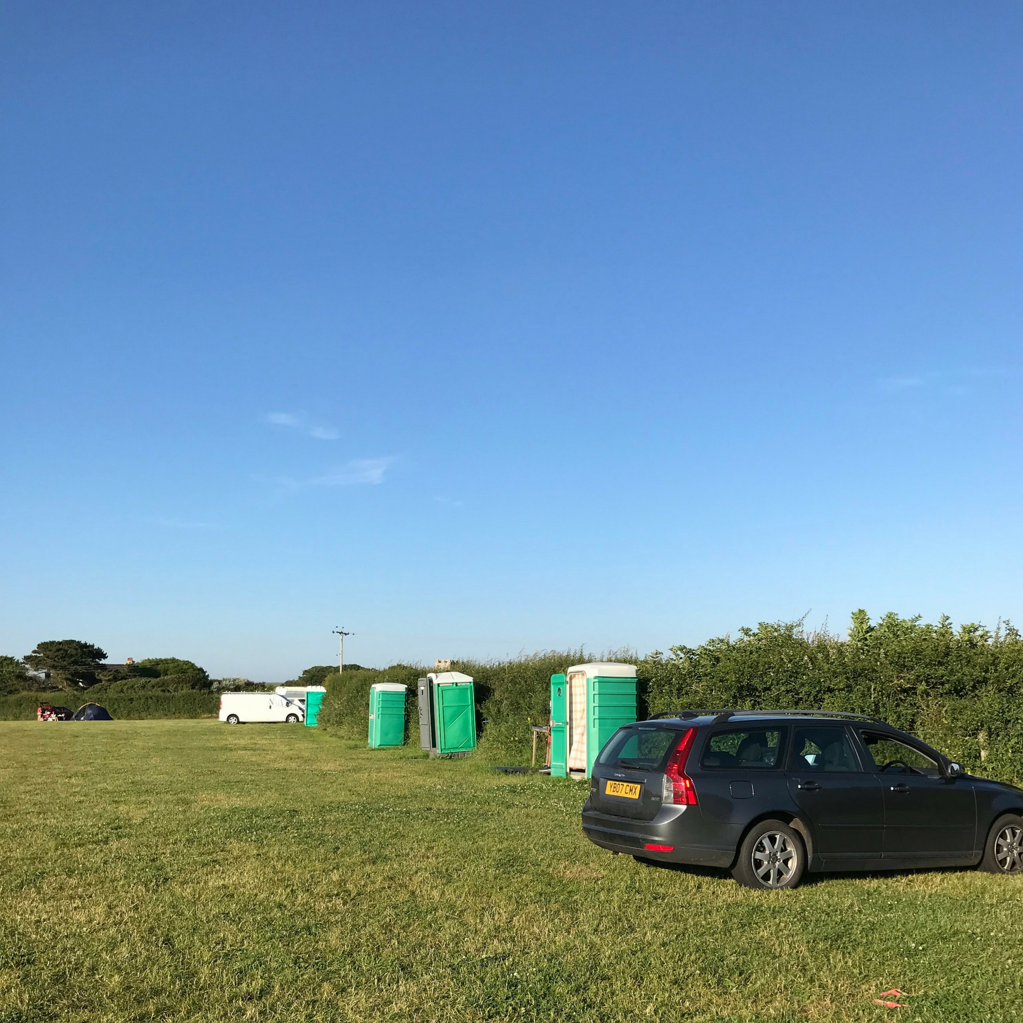 Camping in Pembrokeshire for £5 (1)