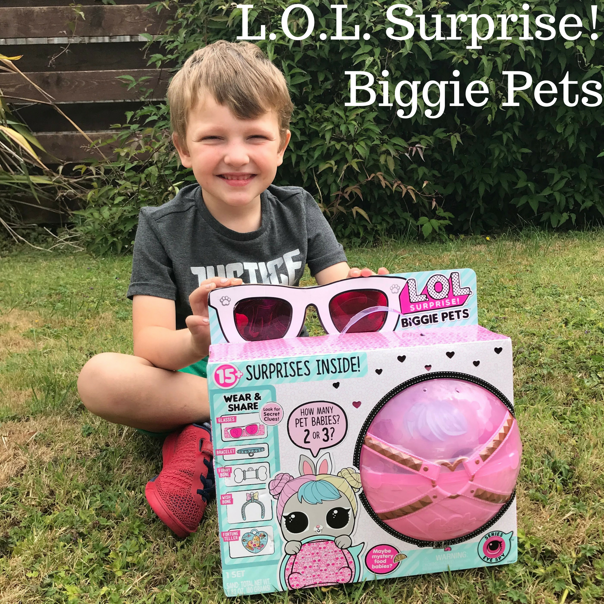 L.O.L. Surprise Biggie Pets