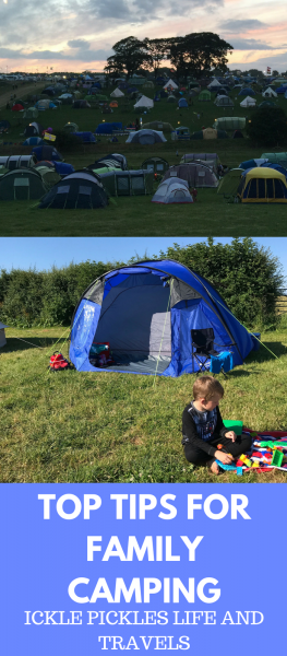 Top Tips for Family Campers