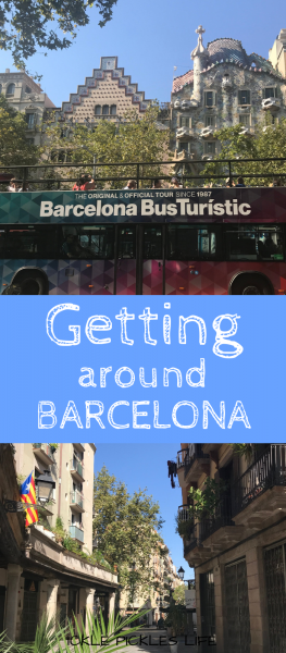 Getting around Barcelona