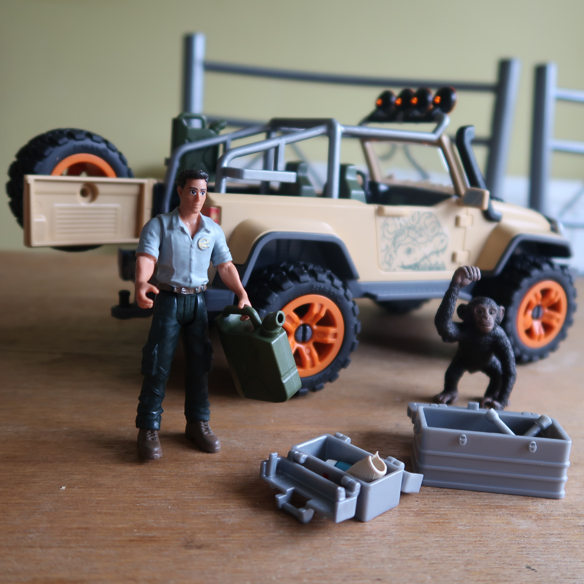 Schleich 4x4 Truck with Winch