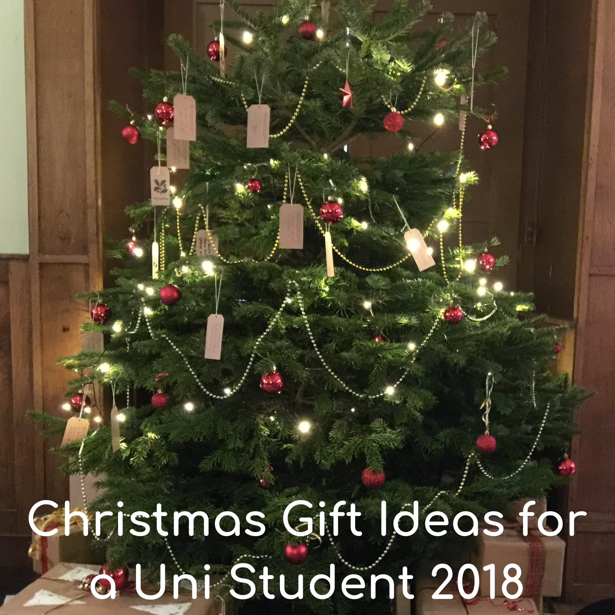 Christmas Gift Ideas for a Uni Student 2018
