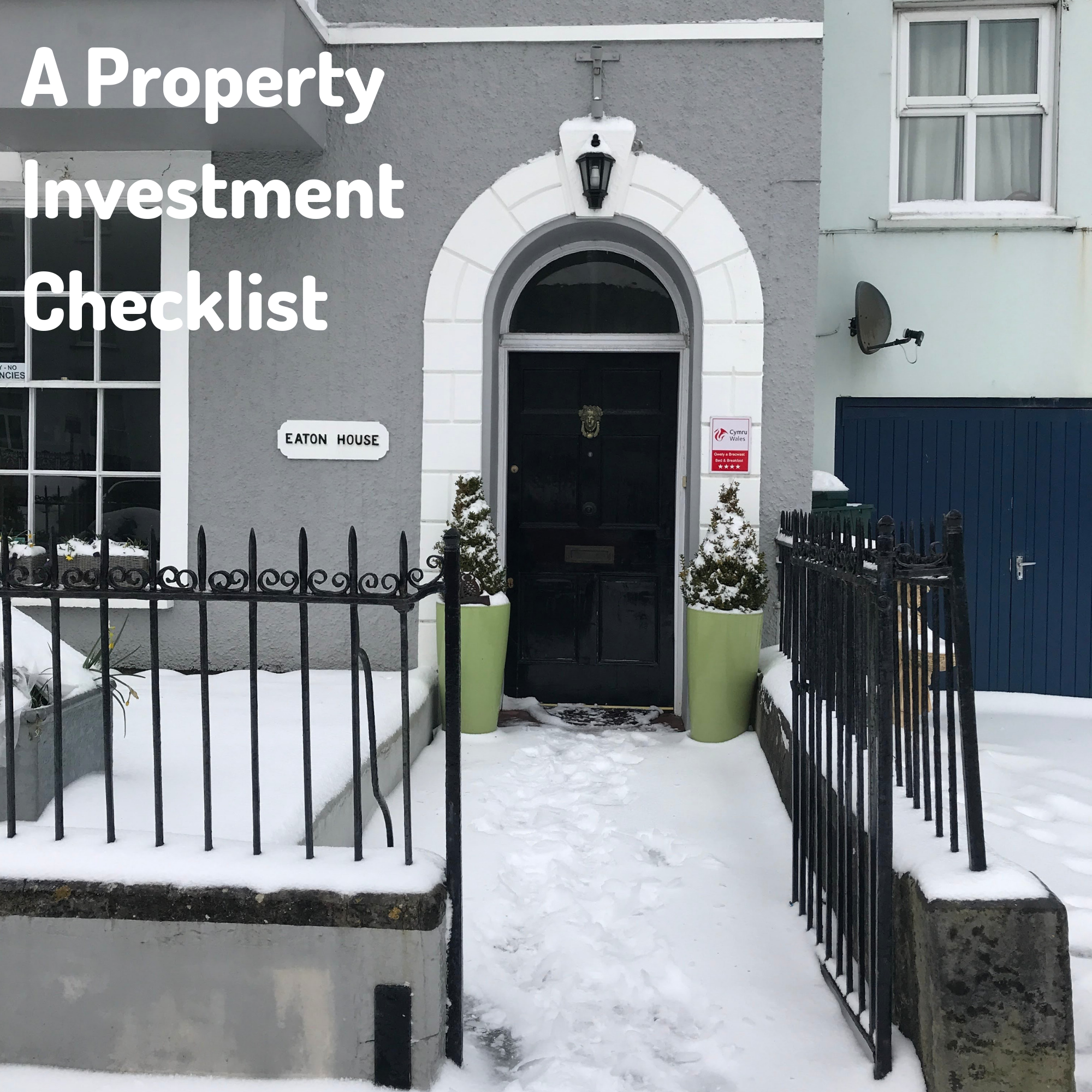 A Property Investment Checklist