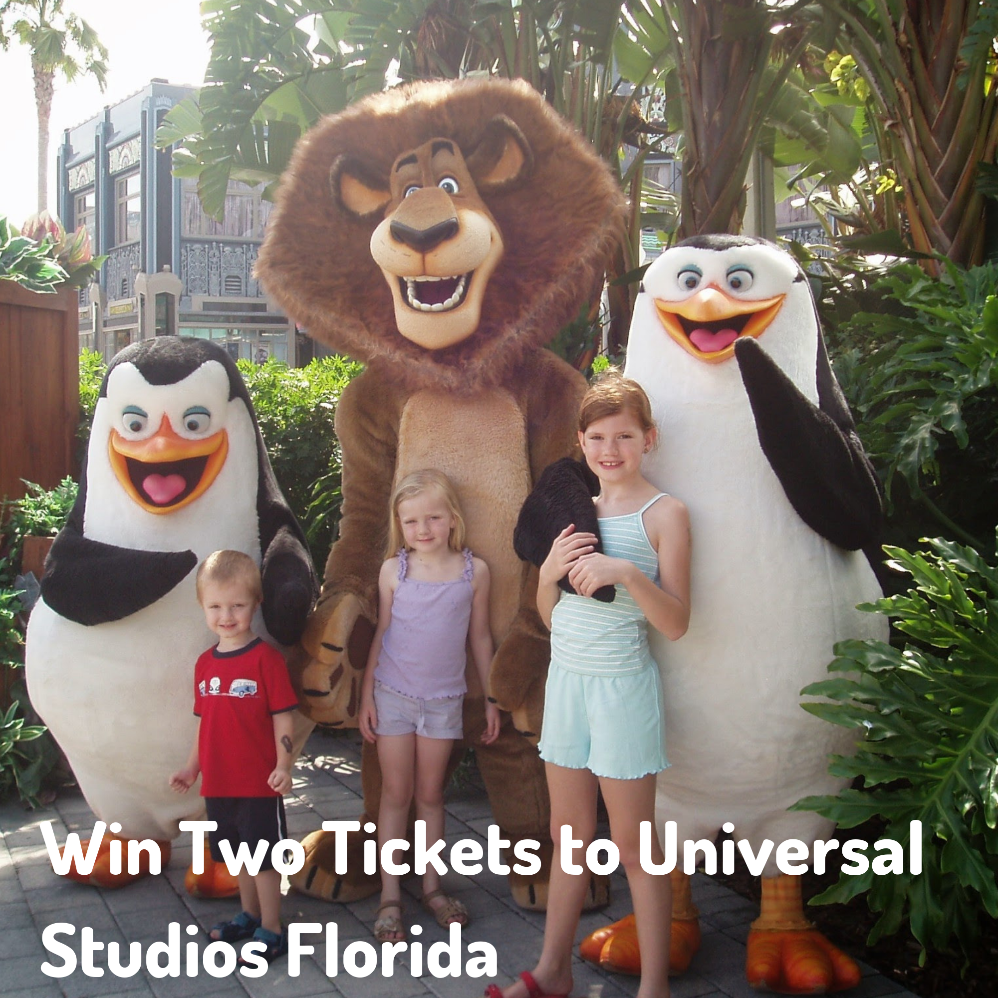 Win Two Tickets to Universal Studios Florida