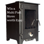 Win a Multi Fuel Stove worth £399