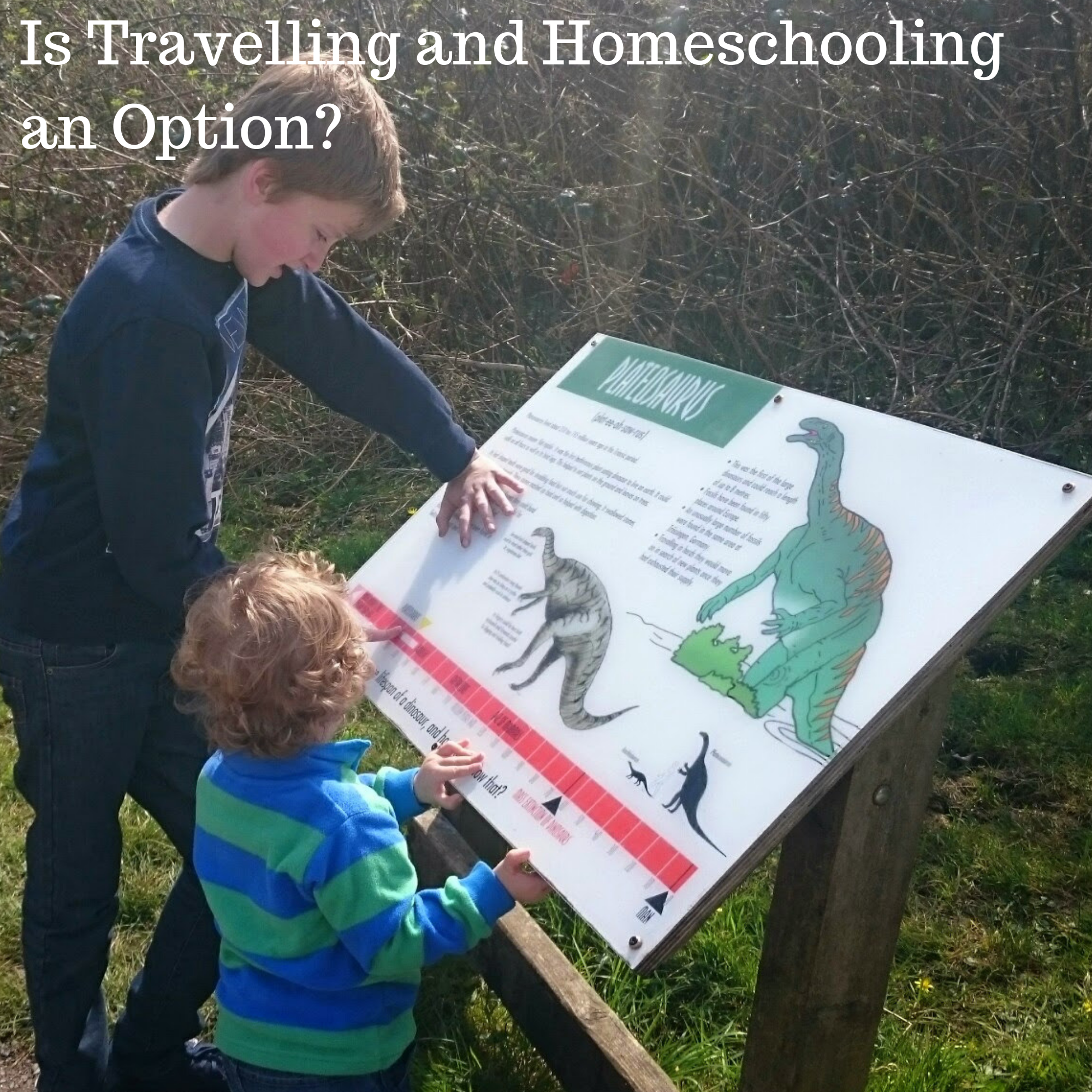 Is Travelling and Homeschooling an Option?
