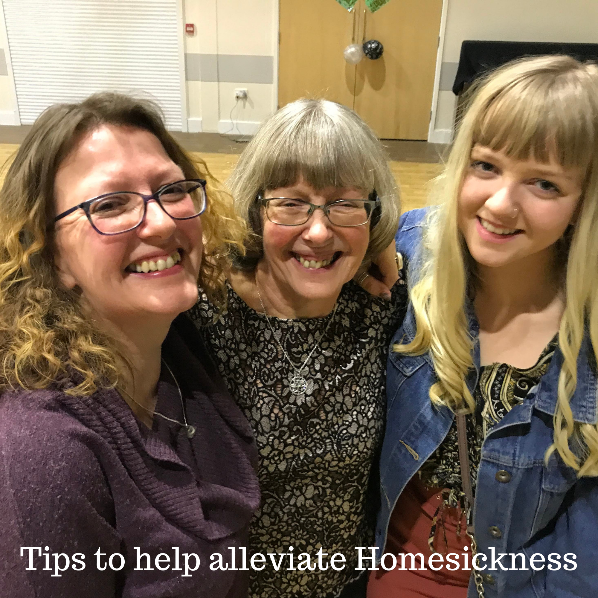 Tips to help alleviate Homesickness