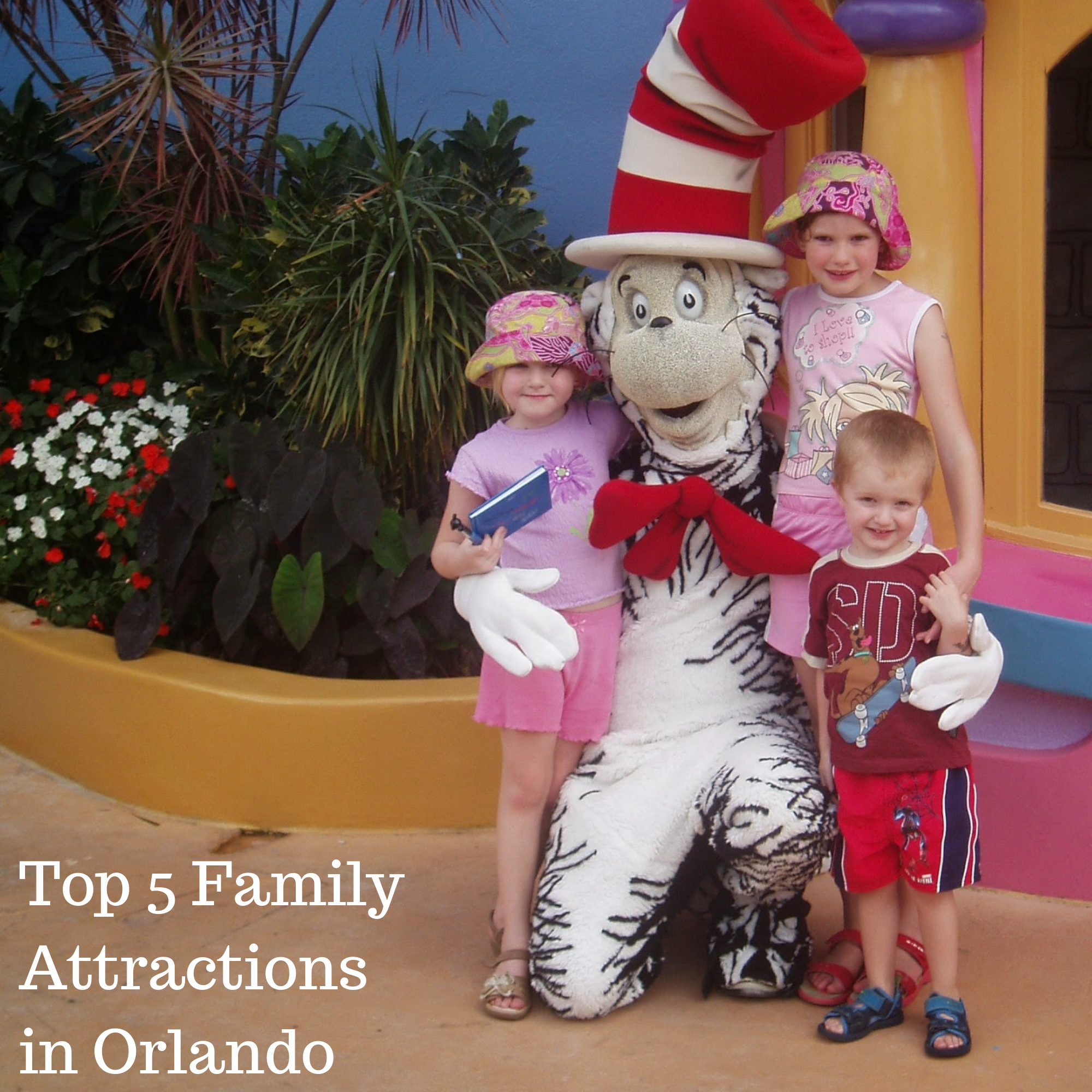 Top 5 Family Attractions in Orlando