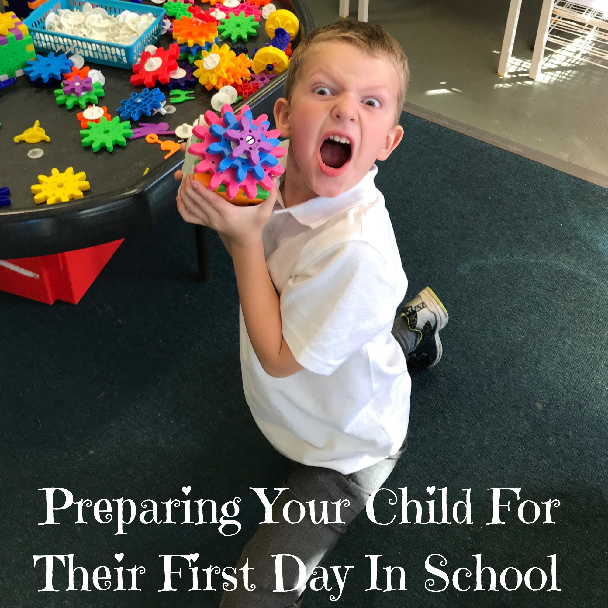 Preparing Your Child For Their First Day In School