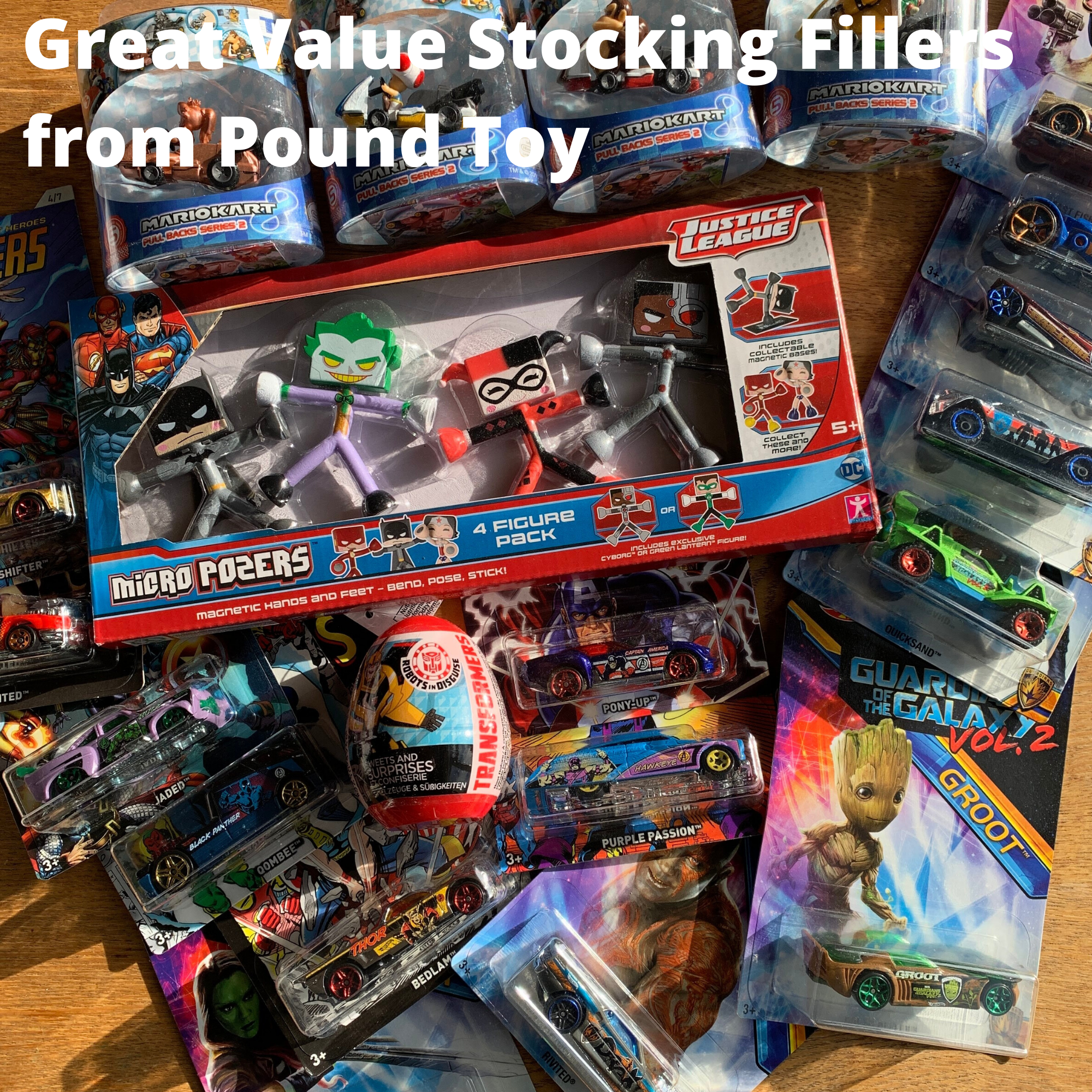Great Value Stocking Fillers from Pound Toy