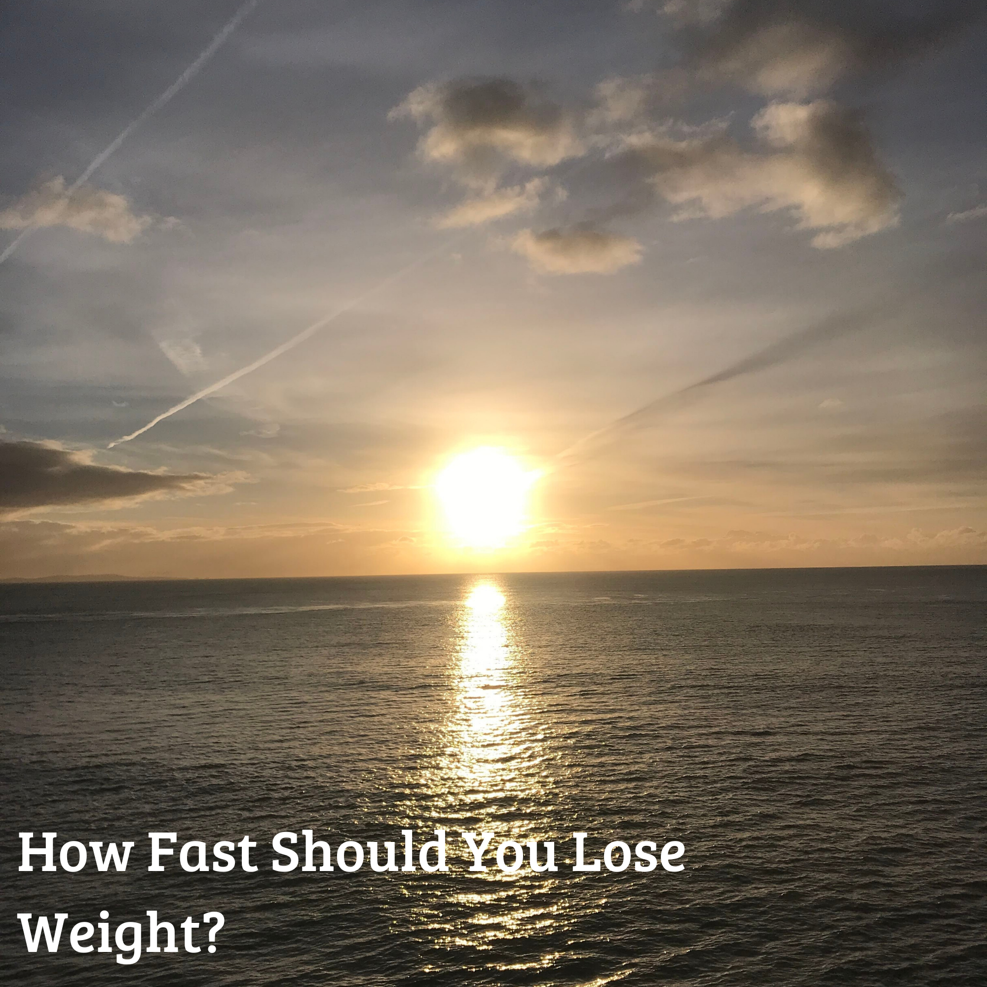 How Fast Should You Lose Weight?