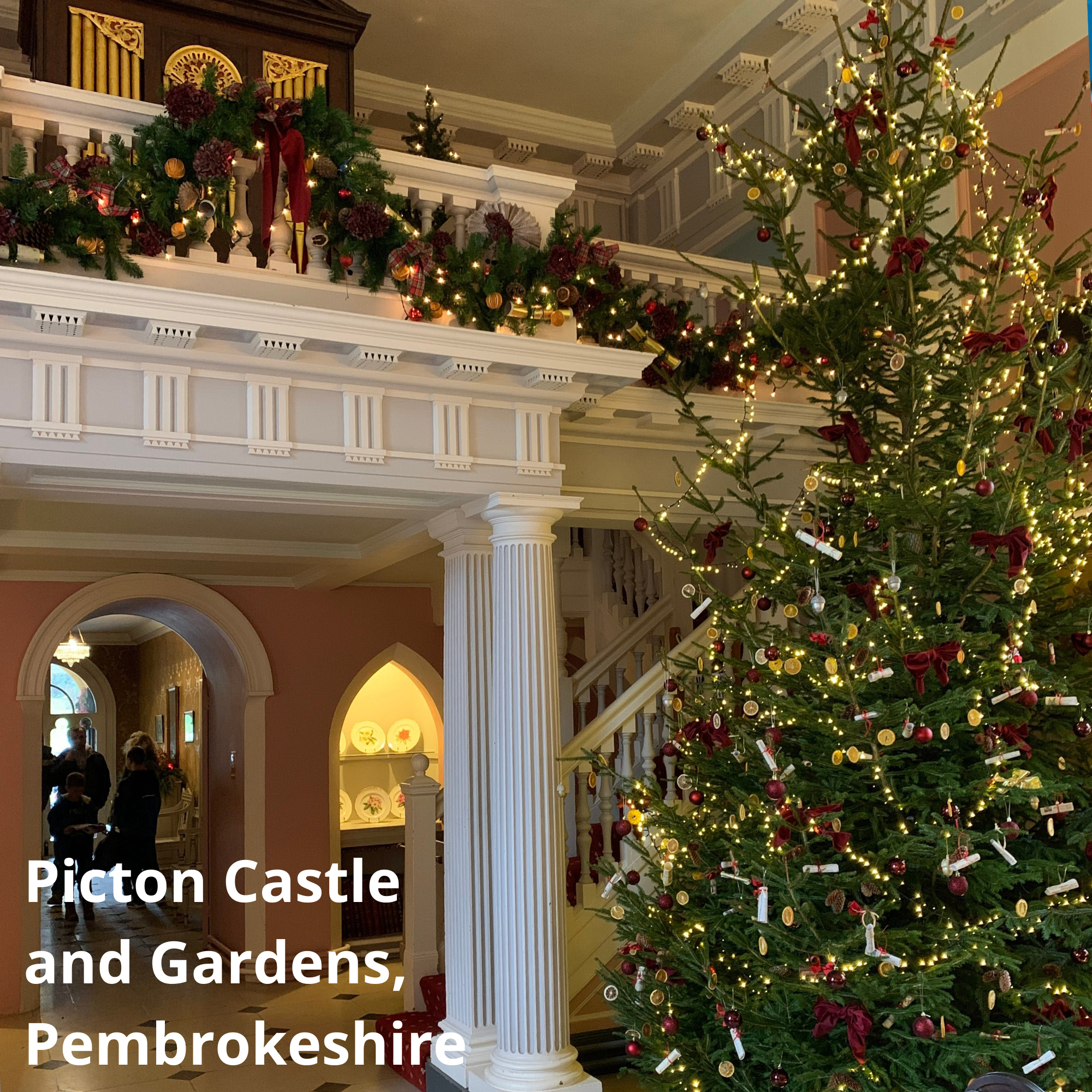 Picton Castle and Gardens, Pembrokeshire