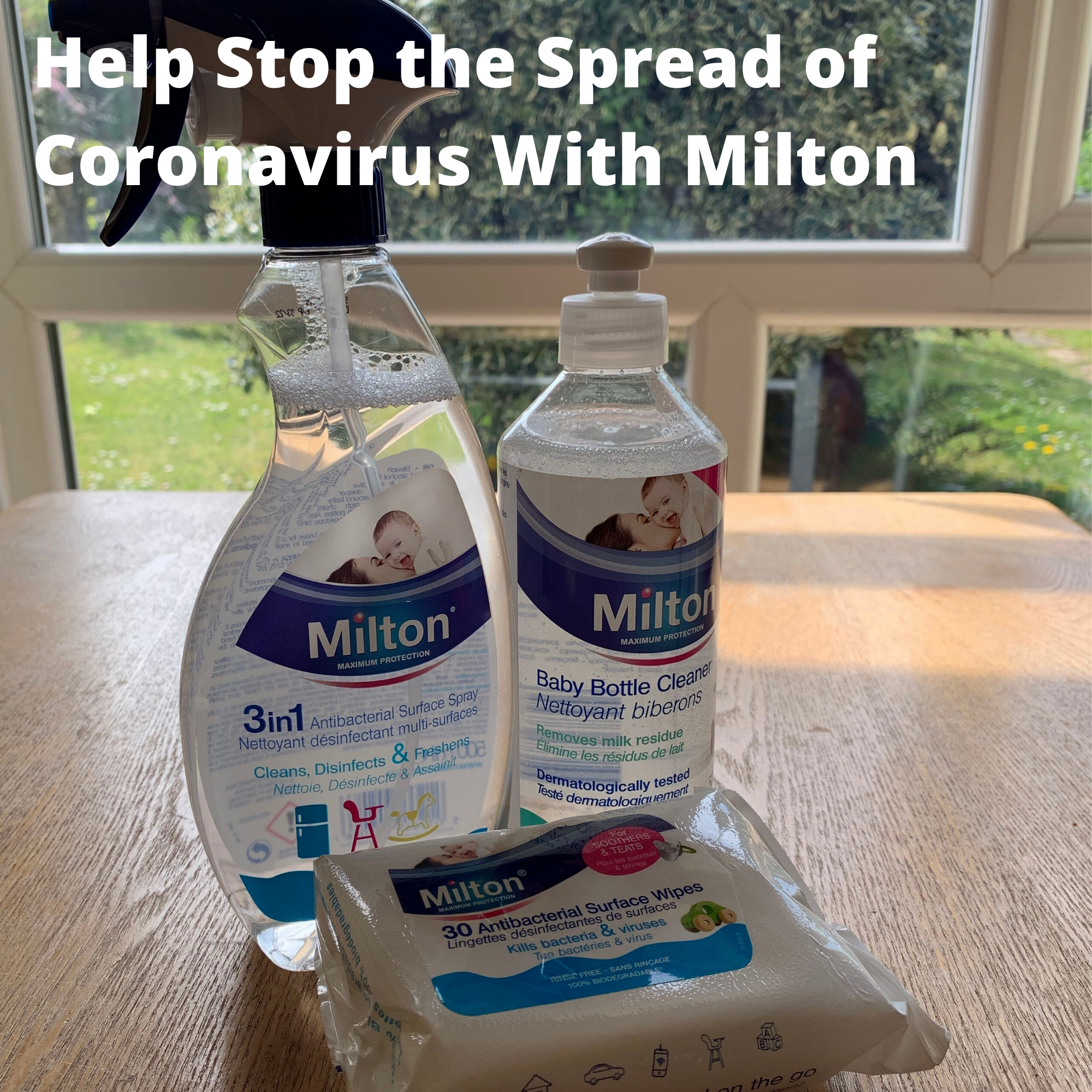 Help Stop the Spread of Coronavirus With Milton