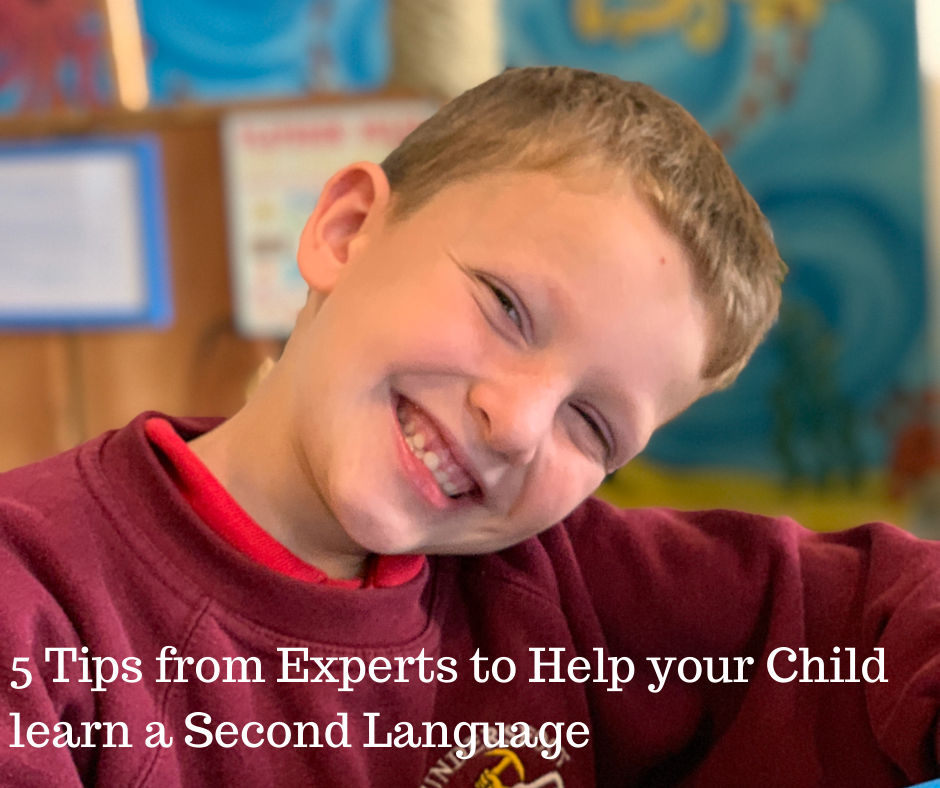 5 Tips from Experts to Help your Child learn a Second Language